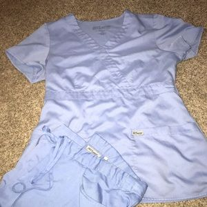 Greys Anatomy lilac Scrub set